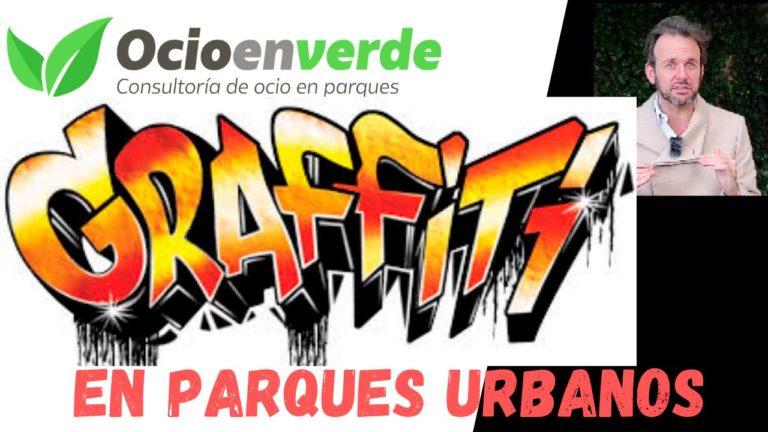 Grafitis parques urbanos